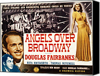 Fod Canvas Prints - Angels Over Broadway, Thomas Mitchell Canvas Print by Everett