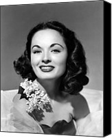 Tulle Canvas Prints - Ann Blyth, 1952 Canvas Print by Everett