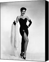 1950s Portraits Canvas Prints - Ann Miller, Ca. 1950s Canvas Print by Everett