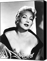 1950s Fashion Canvas Prints - Ann Sothern, Nbc, 1957 Canvas Print by Everett