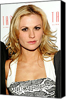 James Atoa Canvas Prints - Anna Paquin At Arrivals For Hbos True Canvas Print by Everett