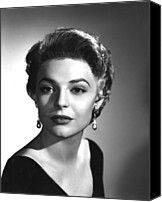 Publicity Shot Canvas Prints - Anne Bancroft, Columbia Pictures, 1955 Canvas Print by Everett