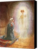 Annunciation Canvas Prints - Annunciation Canvas Print by William Brassey Hole