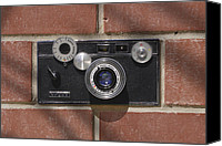 Film Camera Canvas Prints - Another Brick Canvas Print by Mike McGlothlen