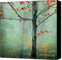 Foliage Canvas Prints - Another Day Another Fairytale Canvas Print by Katya Horner
