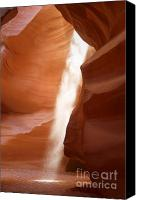 Desert Canvas Prints - Antelope Canyon - The mystery of natures creativity Canvas Print by Christine Till - CT-Graphics