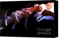 (c) 2010 Canvas Prints - Antelope Slot Canyons Canvas Print by Ryan Kelly