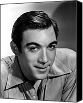 1950s Fashion Canvas Prints - Anthony Quinn, 20th Century-fox, 1940s Canvas Print by Everett