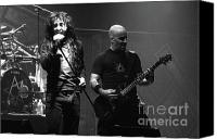 Anthrax Band  Canvas Prints - Anthrax Joey and Scott Canvas Print by Christopher  Chouinard