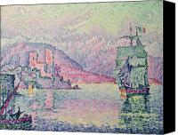 Signac Canvas Prints - Antibes Canvas Print by Paul Signac