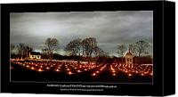 Church Photo Canvas Prints - Antietam Panorama Canvas Print by Judi Quelland