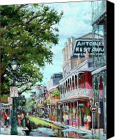 Parks Canvas Prints - Antoines Canvas Print by Dianne Parks