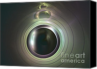 Eye Ball Canvas Prints - Aperture Canvas Print by Kim Sy Ok