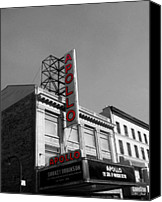 Apollo Theater Canvas Prints - Apollo Theater In Harlem New York No.2 Canvas Print by Ms Judi