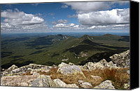 Mountain Special Promotions - Appalachian Trail View Canvas Print by Glenn Gordon