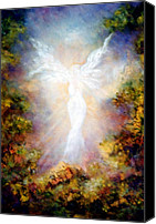Guardian Angel Canvas Prints - Apparition II Canvas Print by Marina Petro