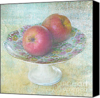 Austin Mixed Media Canvas Prints - Apples still life print Canvas Print by Svetlana Novikova