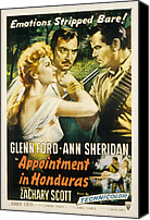 Fid Photo Canvas Prints - Appointment In Honduras, Ann Sheridan Canvas Print by Everett