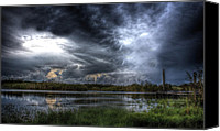 Lifestyle Prints Photo Canvas Prints - Approaching Storm Canvas Print by Mark Andrew Thomas