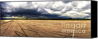 Raf Canvas Prints - Approaching Thunderstorm - Beaulieu Canvas Print by Jan Faul