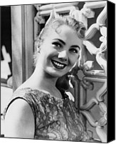 1957 Movies Canvas Prints - April Love, Shirley Jones, 1957 Canvas Print by Everett