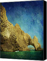Rock Formation Canvas Prints - Arches Canvas Print by Leah Moore