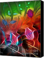 Abstract Organic Canvas Prints - Archetypes Canvas Print by Ann Croon