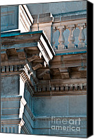 Balusters Canvas Prints - Architectural Details from the 1920s Canvas Print by Gordon Wood