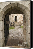Archways Canvas Prints - Archway - Entrance to historic town Canvas Print by Matthias Hauser