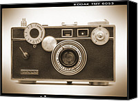 Film Camera Canvas Prints - Argus - Brick Canvas Print by Mike McGlothlen