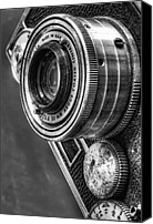 Lens Canvas Prints - Argus C3 Canvas Print by Scott Norris