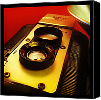 Rangefinder Canvas Prints - Argus seventy five Canvas Print by Gabe Arroyo