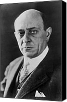 Austrian Canvas Prints - Arnold Schoenberg 1874-1951, Austrian Canvas Print by Everett