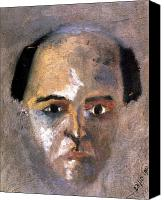 Self Portrait Canvas Prints - Arnold Schoenberg Canvas Print by Granger