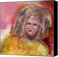 Susan Hanlon Canvas Prints - Arranbee Nancy Lee Doll Canvas Print by Susan Hanlon