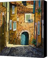 Street Canvas Prints - Arta-Mallorca Canvas Print by Guido Borelli