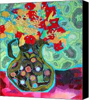 Diane Fine Canvas Prints - Artful Jug Canvas Print by Diane Fine