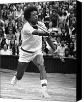 Final Canvas Prints - Arthur Ashe (1943-1993) Canvas Print by Granger