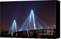 Photographers Atlanta Canvas Prints - Arthur Ravenel Bridge Canvas Print by Corky Willis Atlanta Photography