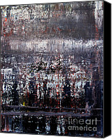 Change Painting Canvas Prints - Artifact 2 Canvas Print by Charlie Spear