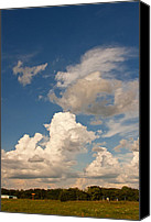 Prairie Sky Art Canvas Prints - Artists Clouds Canvas Print by Toni Hopper