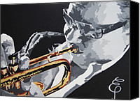 Sandoval Canvas Prints - Arturo Sandoval Canvas Print by Erik Pinto
