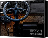 Antique Automobiles Canvas Prints - As Ford Models  Canvas Print by Steven  Digman