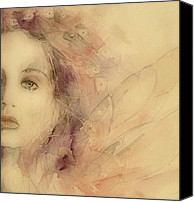 Image  Painting Canvas Prints - As Tears Go By Canvas Print by Paul Lovering