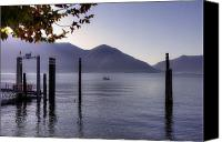 Mountain View Photo Canvas Prints - Ascona - Lago Maggiore Canvas Print by Joana Kruse