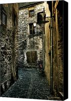 Alley Canvas Prints - Ascona Canvas Print by Joana Kruse