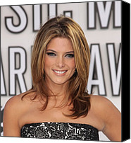 Mtv Canvas Prints - Ashley Greene At Arrivals For 2010 Mtv Canvas Print by Everett