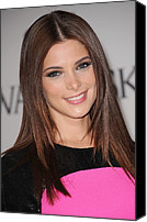 The 2011 Cfda Fashion Awards Canvas Prints - Ashley Greene At Arrivals For The 2011 Canvas Print by Everett