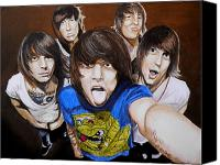Asking Canvas Prints - Asking Alexandria Canvas Print by Al  Molina