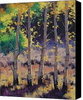 Graham Gercken Canvas Prints - Aspen colors Canvas Print by Graham Gercken